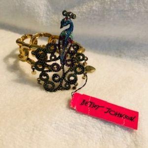 Betsy Johnson Peacock Bracelet *NEW*